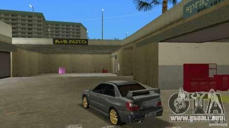 Subaru Impreza WRX STi para GTA Vice City vista lateral izquierdo