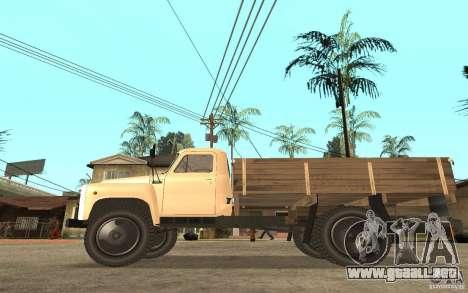 Gaz-52 para GTA San Andreas vista hacia atrás