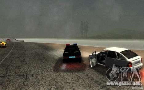 ВАЗ 2114 DPS para visión interna GTA San Andreas