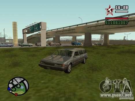 ENBSeries para FX 5200 GForce v2.0 para GTA San Andreas quinta pantalla