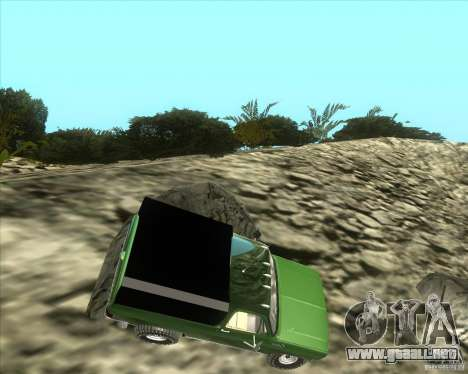Chevrolet K5 Ute Rock Crawler para GTA San Andreas left