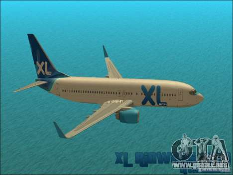 XL Airways 737-800 para GTA San Andreas