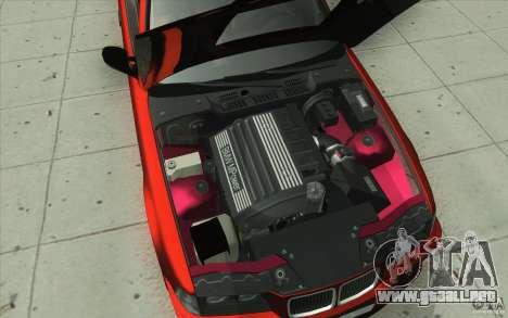 BMW Fan Drift Bolidas para vista inferior GTA San Andreas
