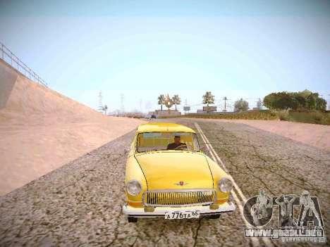 Van GAS 22B para GTA San Andreas vista hacia atrás
