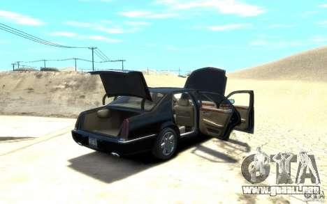 Cadillac DTS v 2.0 para GTA 4 vista interior