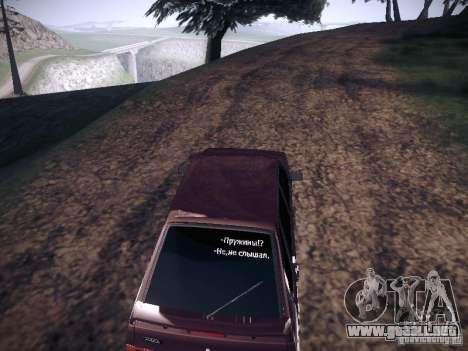 Ваз 2114 neumo para la visión correcta GTA San Andreas