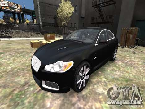 Jaguar XFR para GTA 4