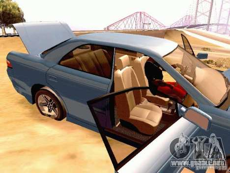 Toyota Mark II JZX90 para GTA San Andreas vista hacia atrás