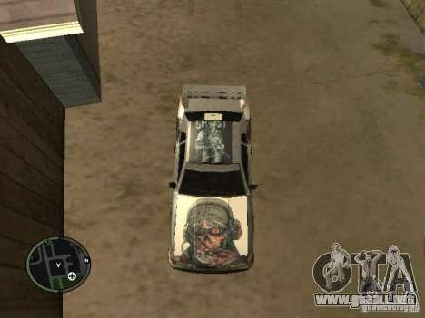 Fantasma vynyl para Elegy para GTA San Andreas vista posterior izquierda