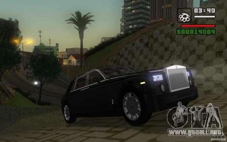 Rolls-Royce Phantom EWB para GTA San Andreas