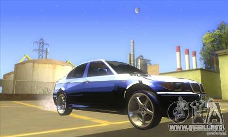 BMW 325i E46 v2.0 para GTA San Andreas left
