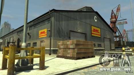 DHL-Port para GTA 4 tercera pantalla
