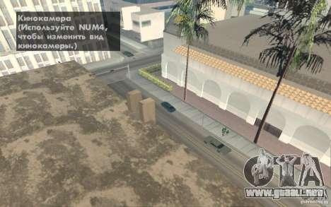 Theft of vehicles 1.0 para GTA San Andreas sucesivamente de pantalla