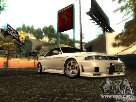 Nissan Skyline Nismo 400R para GTA San Andreas