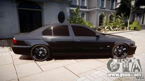 BMW M5 E39 Stock 2003 v3.0 para GTA 4 vista interior