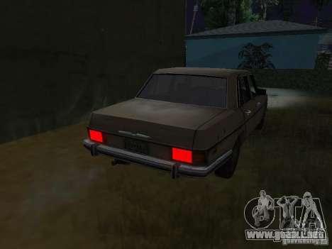 Mercedes-Benz de Call of Duty 4 para GTA San Andreas vista posterior izquierda