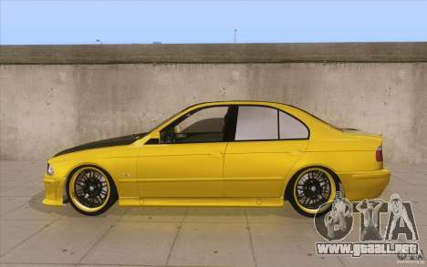 BMW M5 E39 - FnF4 para GTA San Andreas left