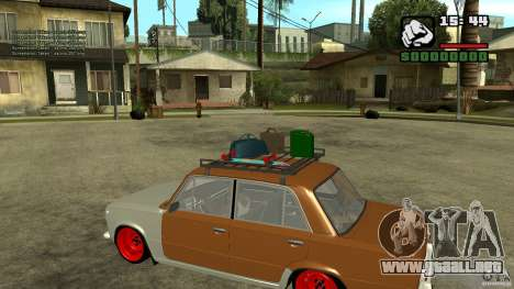 Lada 2101 OnlyDropped para GTA San Andreas left