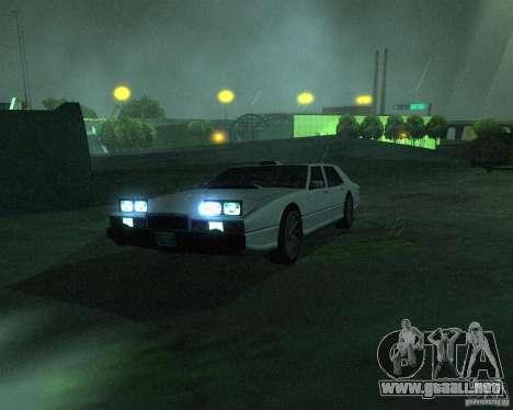 Aston Martin Lagonda para GTA San Andreas left