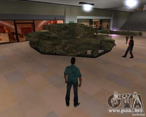 Tanque de Camo para GTA Vice City tercera pantalla
