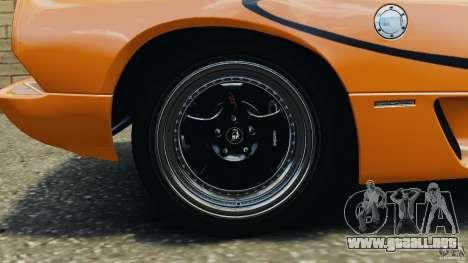 Lamborghini Diablo SV 1997 v4.0 [EPM] para GTA 4 vista superior