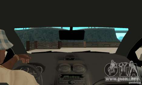 Chevrolet Aveo para la visión correcta GTA San Andreas