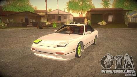 Nissan 180SX JDM para GTA San Andreas
