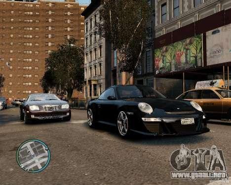 Ruf Rt 12 para GTA 4 Vista posterior izquierda