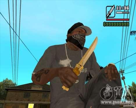Cuchillo del príncipe para GTA San Andreas
