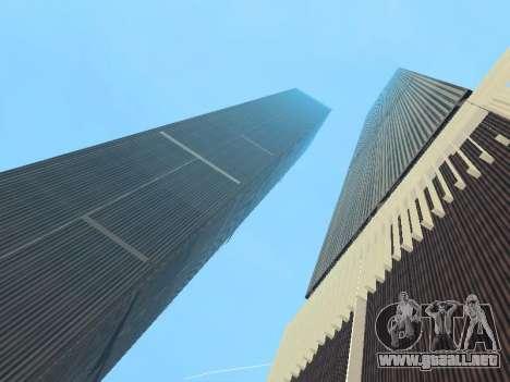 World Trade Center para GTA San Andreas sucesivamente de pantalla