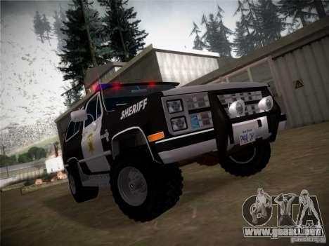 IG ENBSeries para GTA San Andreas quinta pantalla