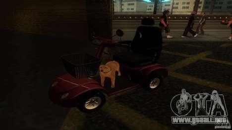 Elektroscooter - Speedy para GTA San Andreas