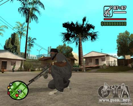 Aplicaciones de arco para GTA San Andreas tercera pantalla