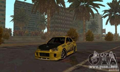 NFS Most Wanted - Paradise para GTA San Andreas quinta pantalla