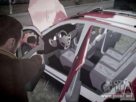 Dacia Sandero Stepway para GTA 4 interior