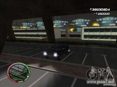 Chevrolet Suburban para GTA San Andreas vista hacia atrás
