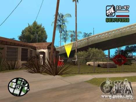 Krant race v2 para GTA San Andreas sucesivamente de pantalla