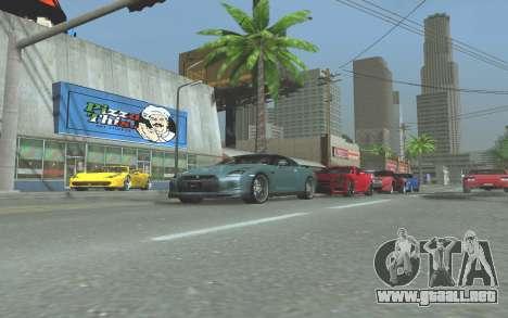 ENB v3.0 by Tinrion para GTA San Andreas séptima pantalla