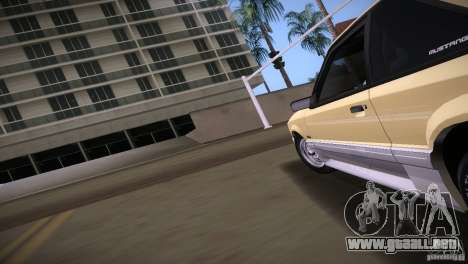 Ford Mustang GT 1993 para GTA Vice City vista lateral izquierdo