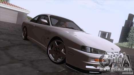 Nissan Silvia S14 Kouki para visión interna GTA San Andreas
