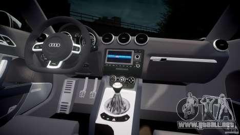 Audi TT RS Coupe v1 para GTA 4 visión correcta