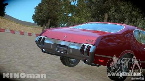 Oldsmobile 442 para GTA 4 visión correcta