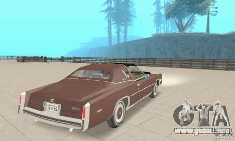 Cadillac Eldorado Biarritz 1978 para GTA San Andreas left