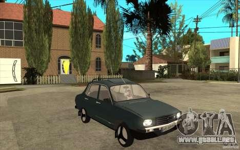 Dacia 1300 Cocalaro Tzaraneasca para GTA San Andreas vista hacia atrás