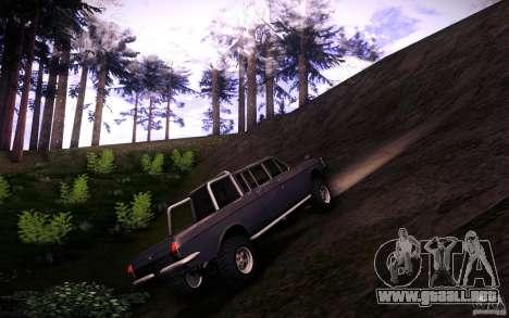 GAZ 2402 4 x 4 PickUp para visión interna GTA San Andreas