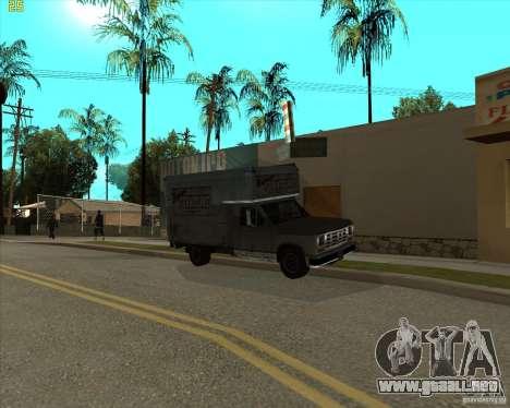 Car in Grove Street para GTA San Andreas séptima pantalla