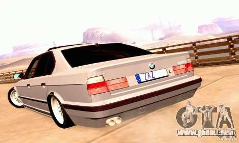 BMW E34 525i para la visión correcta GTA San Andreas