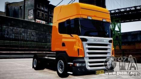 Scania R500 para GTA 4 vista interior