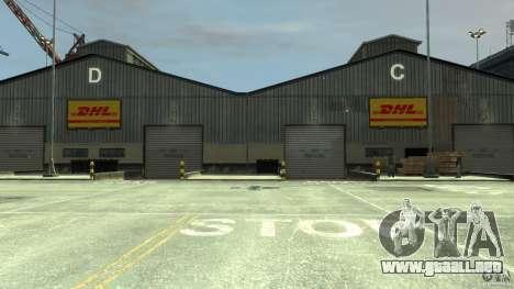 DHL-Port para GTA 4 adelante de pantalla