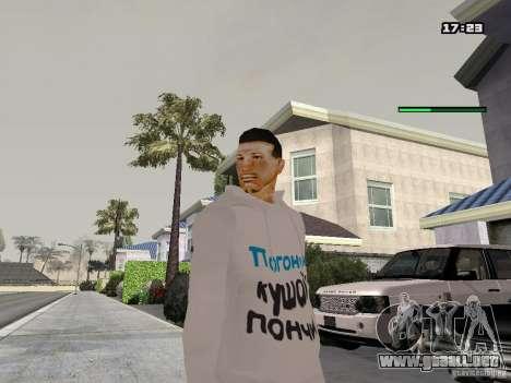 Schmycr para GTA San Andreas segunda pantalla